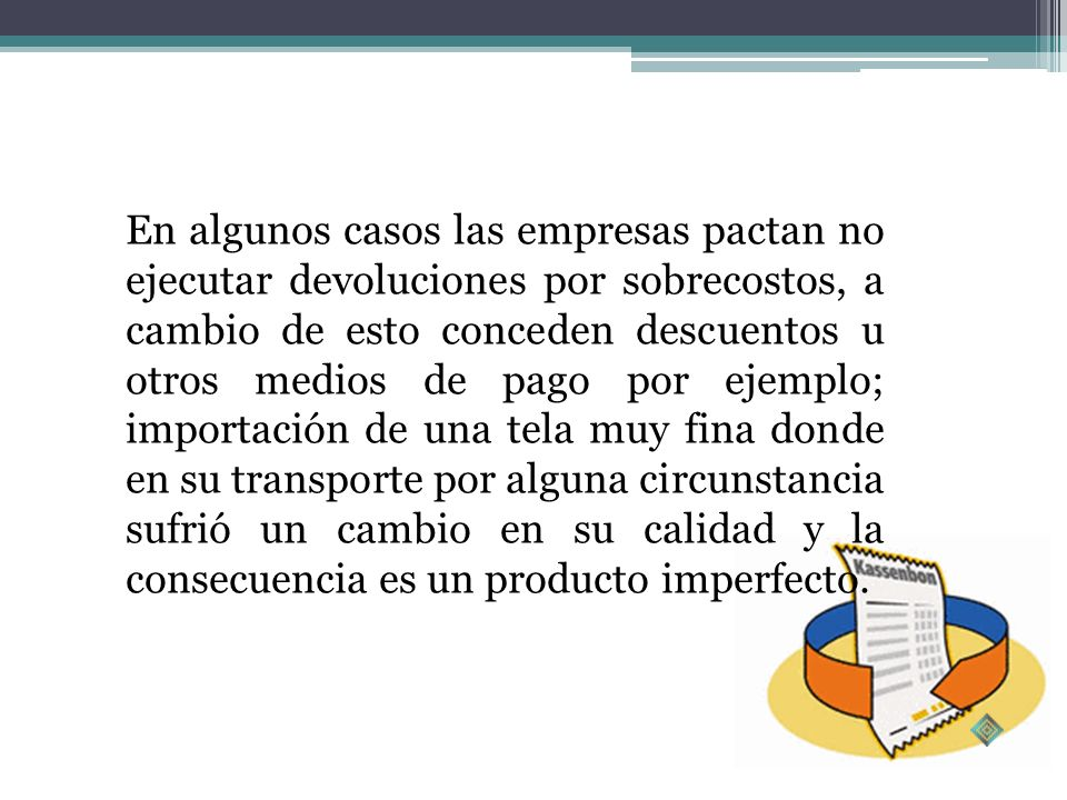 Devolución por falla en servicioCliente cambio de opiniónMantenimientoReparaciónReconstrucciónProducto no solicitado Documento soporte mal diligenciad