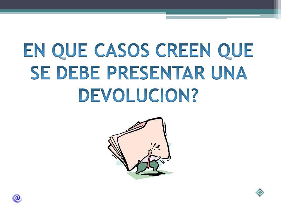 EJEMPLO DE POLITICA DE DEVOLUCION EN EMPRESAS Adaptada de http://decoideas.es/comercio/pf/devolucion/ Por la autora.http://decoideas.es/comercio/pf/de