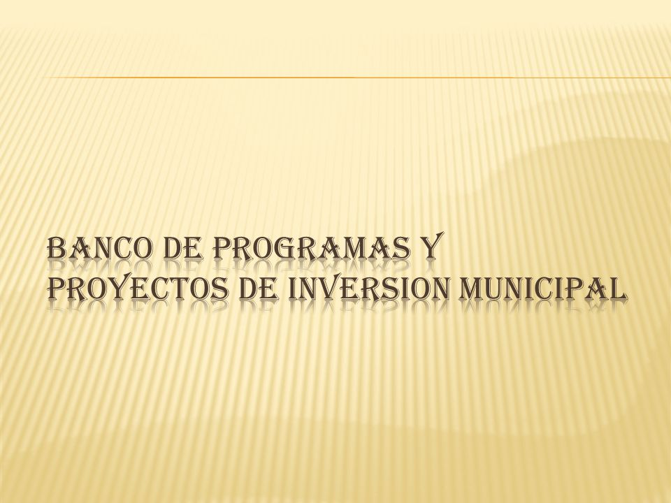 EL BANCO DE PROGRAMAS Y PROYECTOS DE INVERSION MUNICIPAL AÑ ONo.PROYECTO SECTORNOMBRE PROYECTO RADICADOS Y VIABILIZADOS 2012 2012-054-245- 0001 SECTOR COMUNITARIO FORMANDO CIUDADANOS Instrucción y capacitación, para una formación competente de líderes comunitarios.