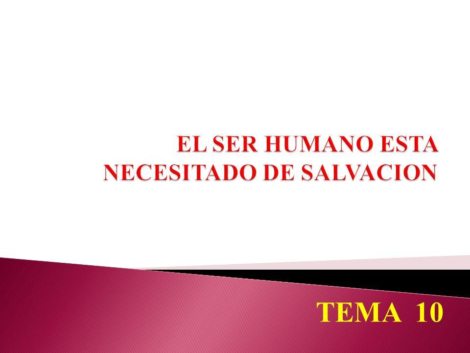 El mundo no tiene un poder semejante de salvación para el hombre.