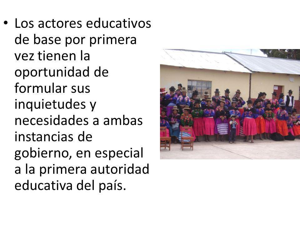 MATRIZ DE COMPROMISOS MINEDU - GORE 7mo COMPROMISOPASOS A SEGUIR Asegurar que el primer día del año escolar 2012 todos los y las estudiantes de la Región Puno acudan a la escuela, cuenten con sus docentes, sus materiales educativos y aulas en buen estado en el marco de la Movilización Nacional por el Primer Día de Clase MINEDUGOBIERNO REGIONAL Oportuna transferenc ia de los recursos de mantenimi ento / Supervisión para que los recursos de mantenimiento se usen de manera oportuna y eficiente / Alianza con diferentes actores de la sociedad civil / directores cumplen plan de mantenimiento