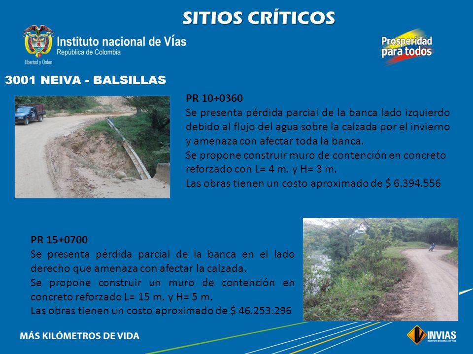 SITIOS CRÍTICOS 45HL01 HOBO - YAGUARÁ PR 0+0000 a PR 23+0150 El pavimento se encuentra en mal estado debido a la falta de mantenimiento, presentando f