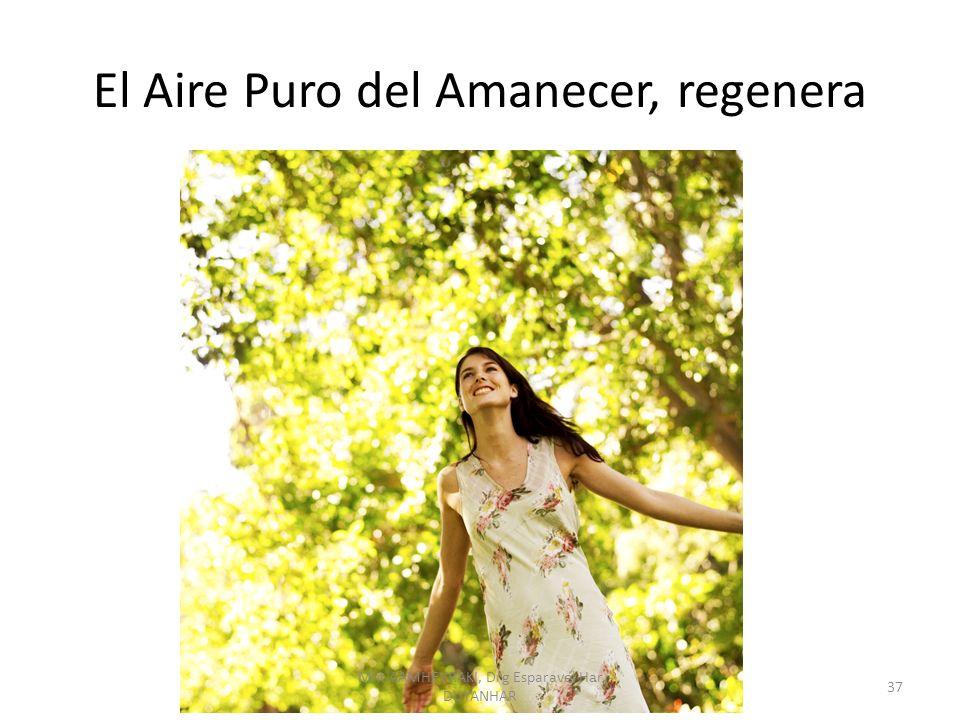 El Aire Puro del Amanecer, regenera 37 Mht AAMHEVRAKI, Drg Esparavel Har DUYANHAR
