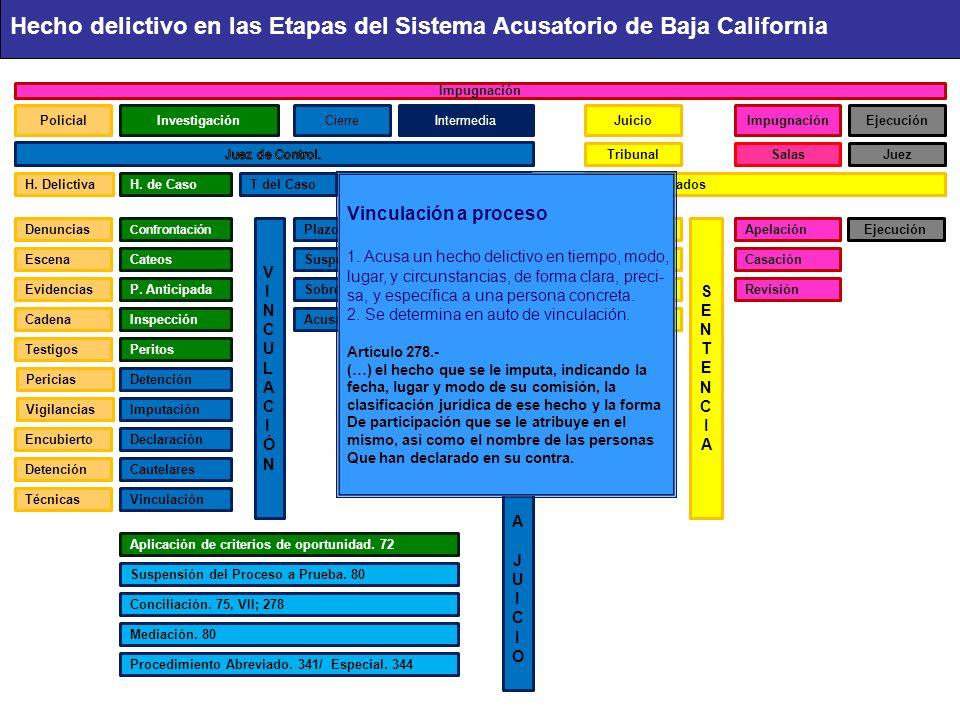 PolicialInvestigaciónCierreIntermediaJuicioImpugnaciónEjecución TribunalSalasJuez Cadena Confrontación PlazoA.IntermediaA.