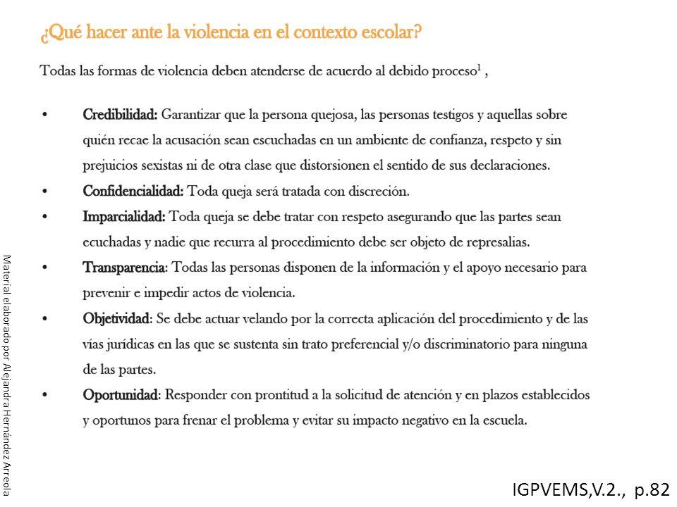 IGPVEMS,V.2., p.82 Material elaborado por Alejandra Hernández Arreola
