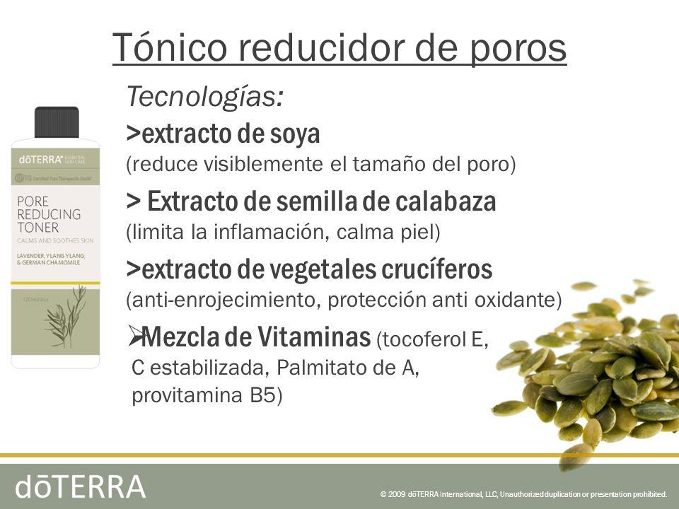 Tecnologías: >extracto de soya (reduce visiblemente el tamaño del poro) > Extracto de semilla de calabaza (limita la inflamación, calma piel) >extract