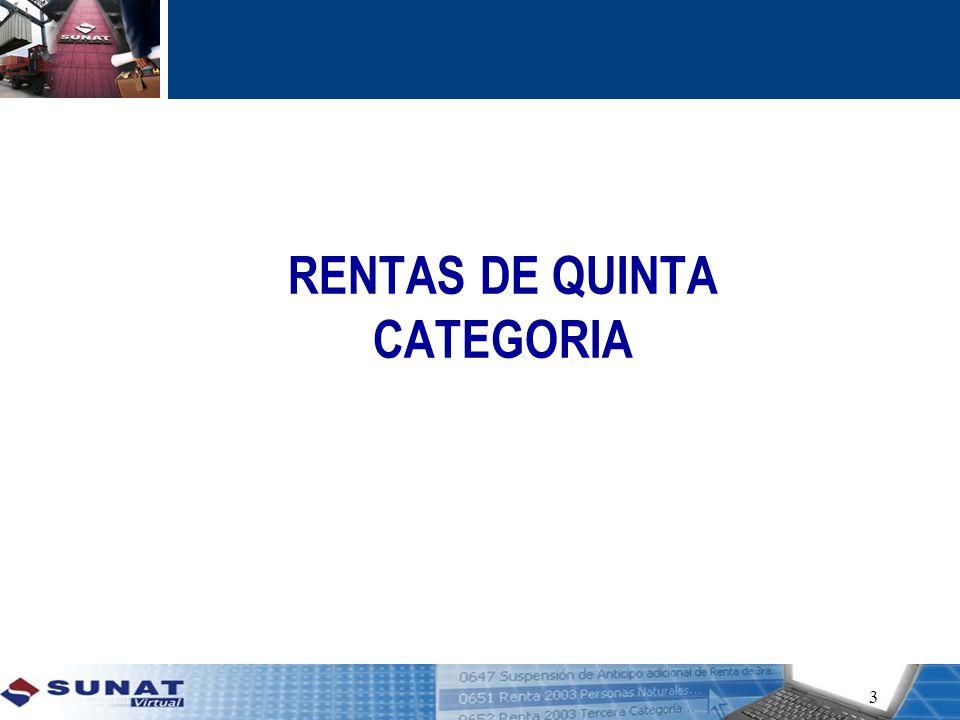 RENTAS DE QUINTA CATEGORIA 3