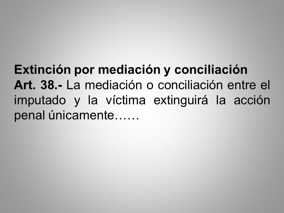 NUEVO CPP.LIBRO PRIMERO, TÍTULO II CAPÍTULO UNO, SECCIÓN SEGUNDA EXTINCIÓN DE LA ACCIÓN PENAL Extinción de la acción penal Art. 31.- La acción penal s