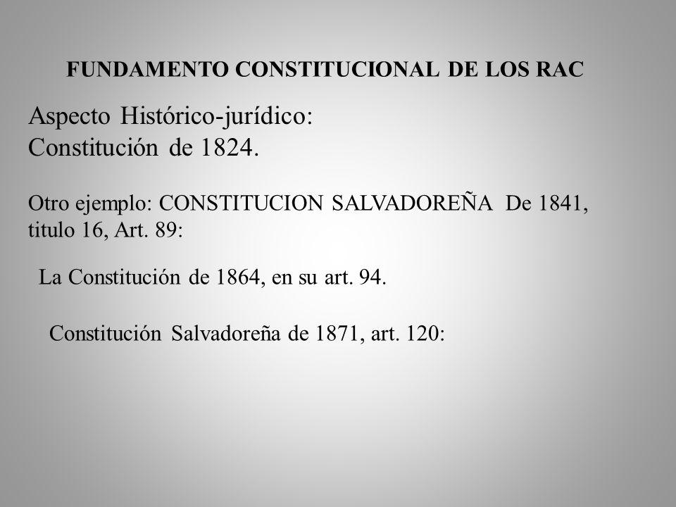 EL SALVADOR: En la 5ª Conferencia sobre reforma judicial realizada en San Salvador, octubre de 1997, se trato el tema RAC como forma de ampliar el acc