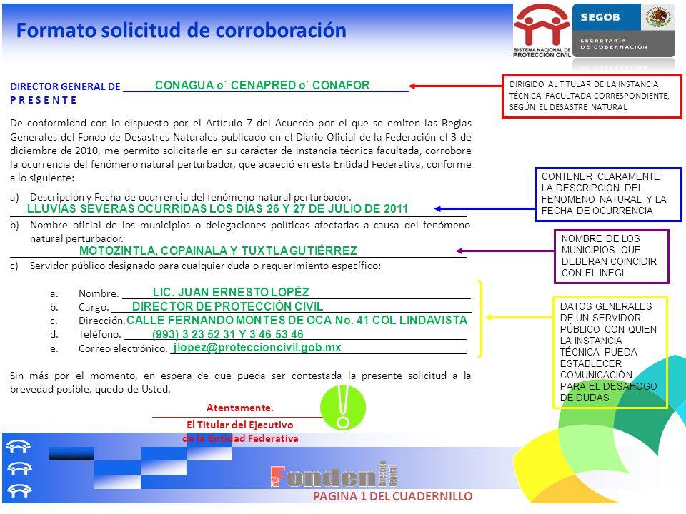 DIRECTOR GENERAL DE __________________________________________________ P R E S E N T E De conformidad con lo dispuesto por el Artículo 7 del Acuerdo p