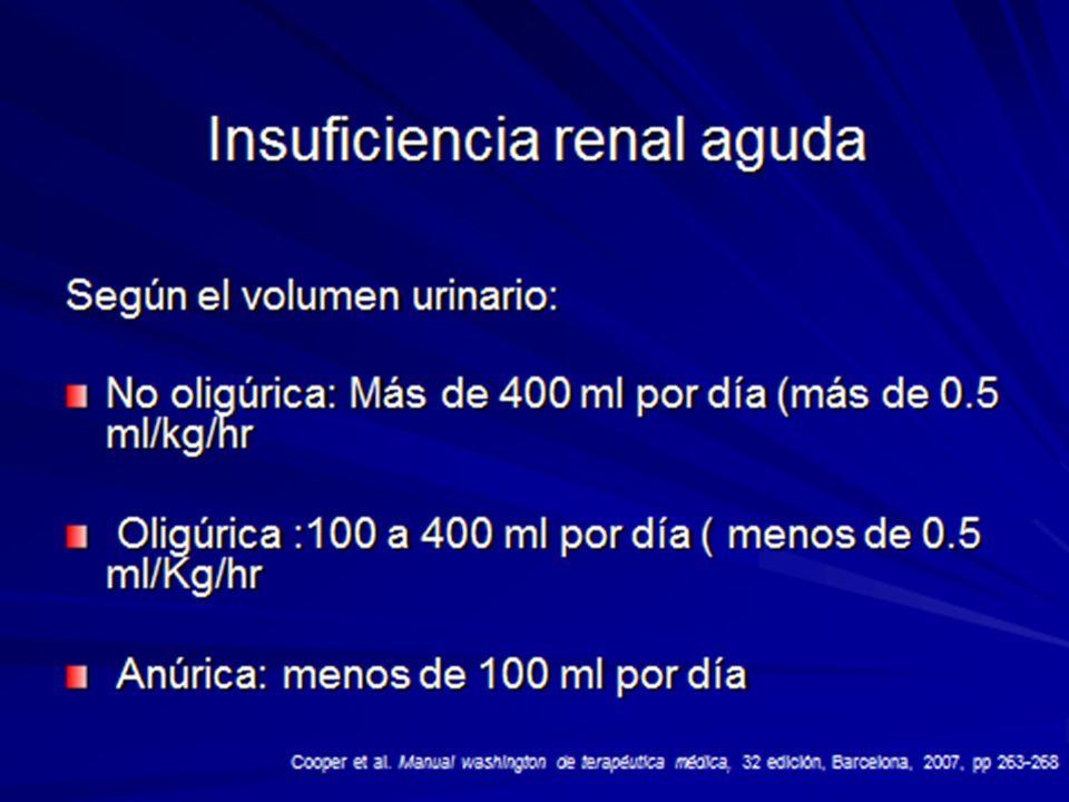 INSUFICIENCIA RENAL AGUDA INTRINSICA I.