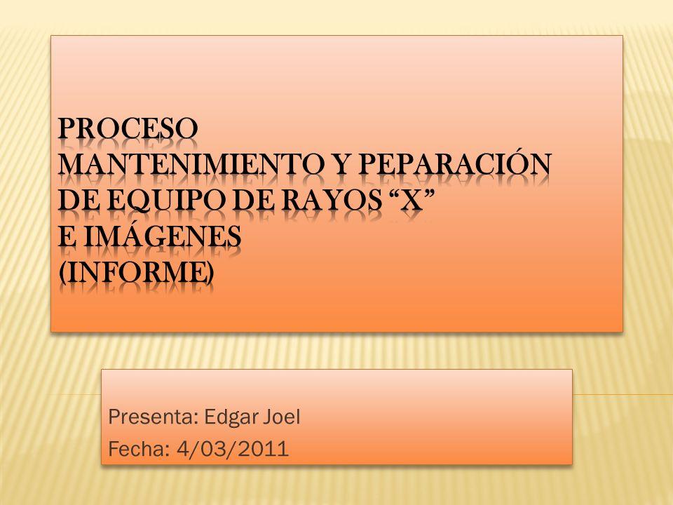 Presenta: Edgar Joel Fecha: 4/03/2011 Presenta: Edgar Joel Fecha: 4/03/2011