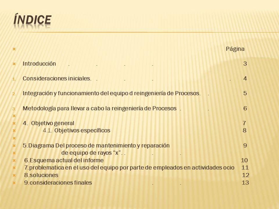 Página Introducción.... 3 1. Consideraciones iniciales.....
