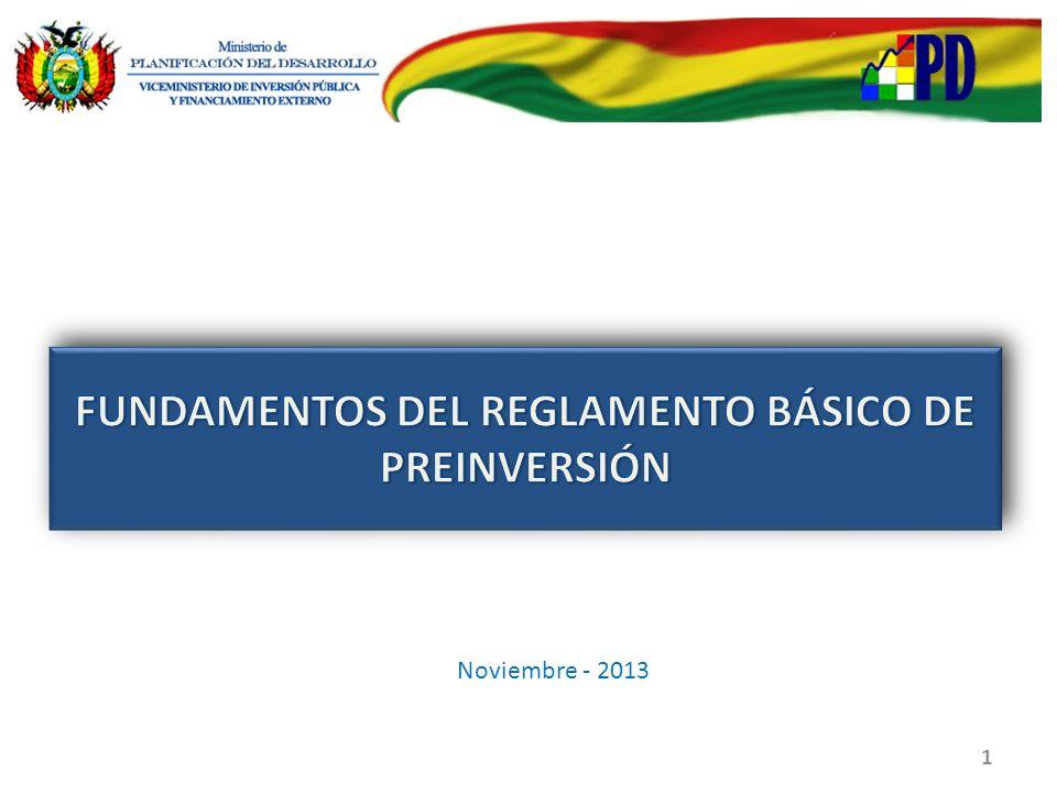FASE DE PRE INVERSION FASE DE PRE INVERSION EJECUCION ESTUDIO DE IDENTIFICACION (EI) ESTUDIO INTEGRAL TECNICO, ECONOMICO, SOCIAL Y AMBIENTAL (TESA) OPERACIÓN 1 2 Proyecto MAYOR El monto de inversión es mayor a Bs.