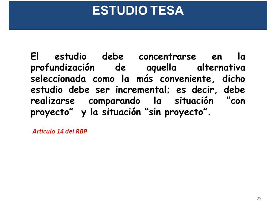 ESTUDIO EI 8. Evaluación Socioeconómica y Evaluación Financiera – Privada. 9. Análisis de Sensibilidad. 10. Conclusiones. Los estudios y las conclusio