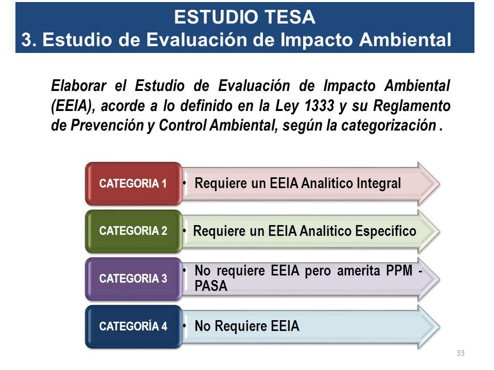 ESTUDIO TESA 2. Organización para la Implementación del Proyecto Corresponde al estudio organizacional para la operación del proyecto, como ser: Tipo