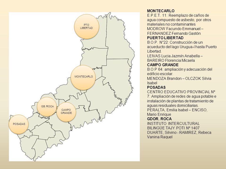 Reemplazo de caños de fibrocemento-asbesto de red primaria de Montecarlo.