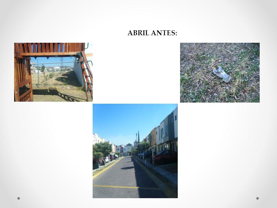 ABRIL ANTES: