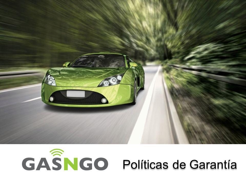 Garantía Esta Garantía y Manual de Procedimientos de servicio se ha establecido con el fin de proporcionar a los Representantes de ventas Autorizados del Servicio de GasNgo en México directrices para la presentación de cualquier reclamación.