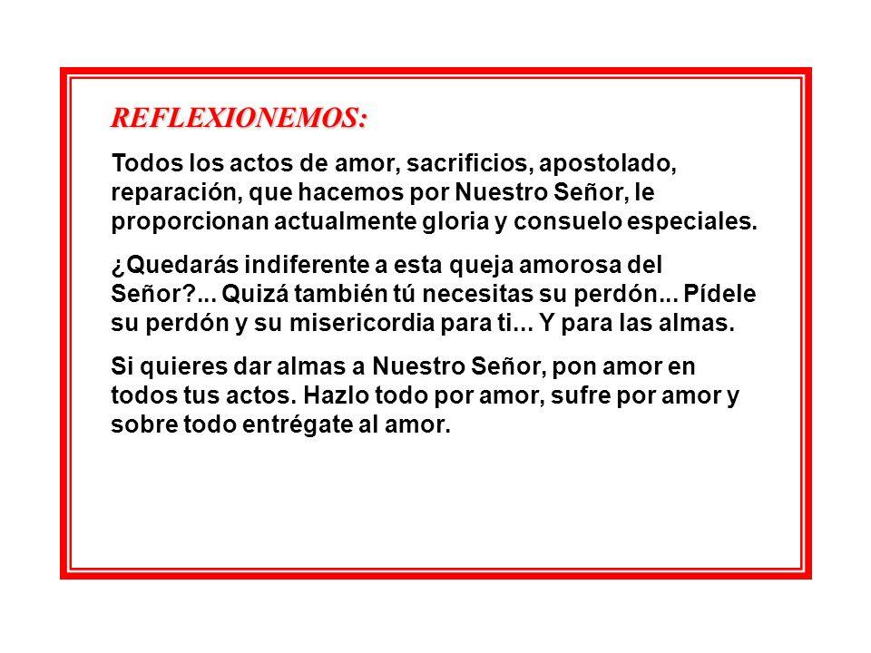 DE FONTIBUS SALVATORIS (De las Fuentes del Salvador) Día 26. DÍA DE DESEOS DE REPARACIÓN.