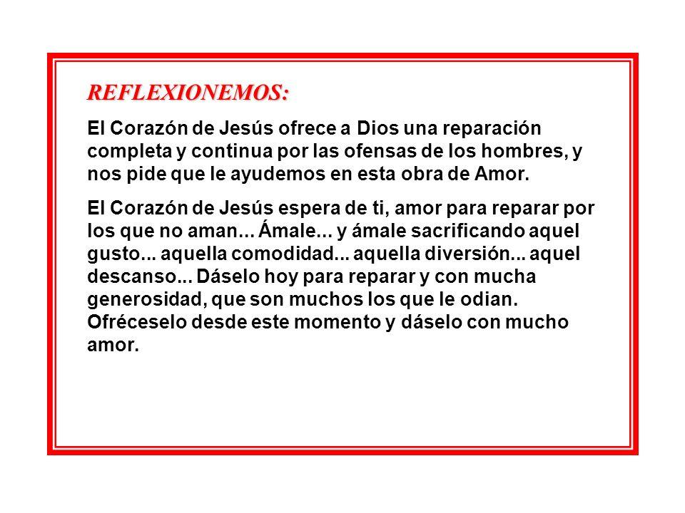 DE FONTIBUS SALVATORIS (De las Fuentes del Salvador) Día 3. DÍA DE REPARACIÓN.