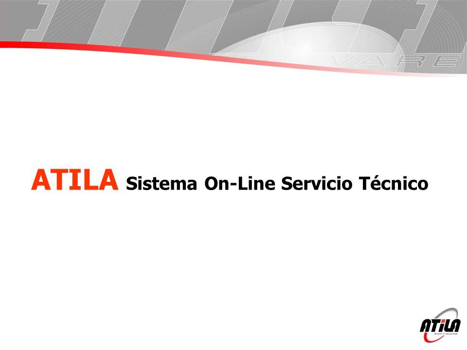 ATILA Sistema On-Line Servicio Técnico