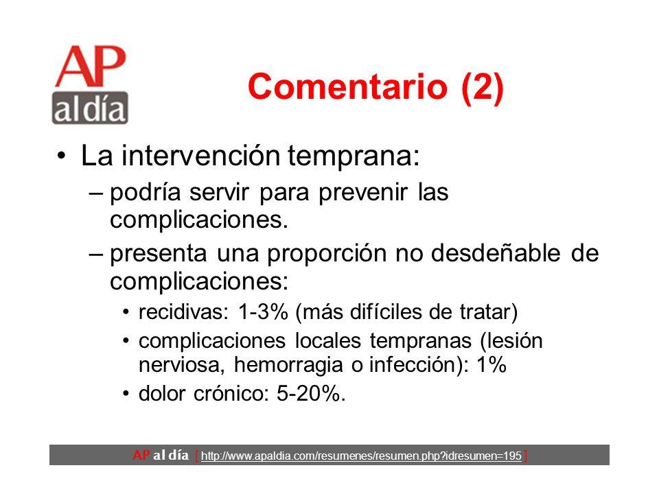 AP al día [ http://www.apaldia.com/resumenes/resumen.php?idresumen=195 ] Comentario (1) Incidencia de la HI a lo largo de la vida: –varones: 27% –muje