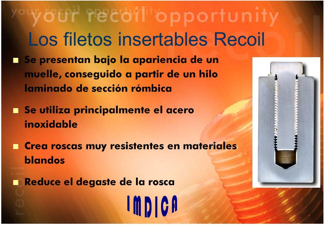 Filetes insertables RECOIL