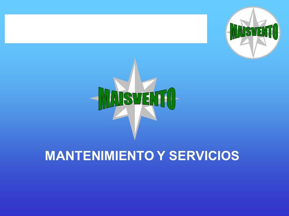 MANTENIMIENTO Y SERVICIOS