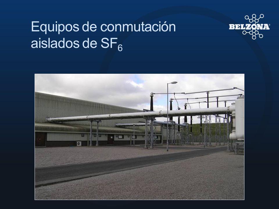 Equipos de conmutación aislados de SF 6