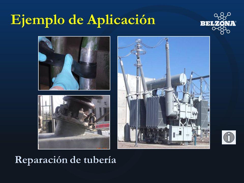 Ejemplo de Aplicación Reparación de tubería
