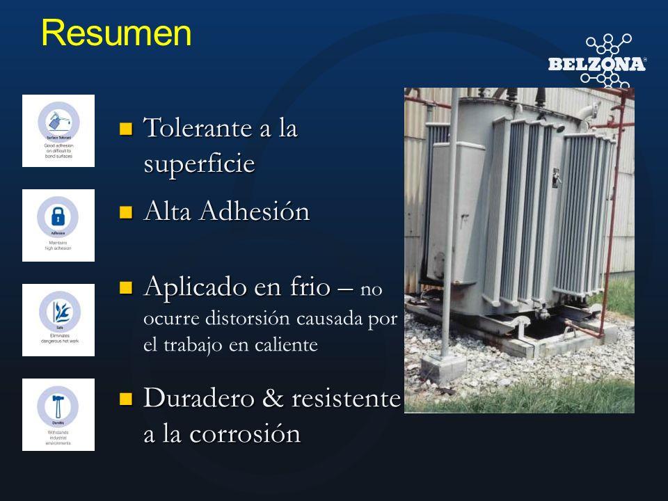 Resumen Aplicado en frio – Aplicado en frio – no ocurre distorsión causada por el trabajo en caliente Tolerante a la superficie Tolerante a la superfi