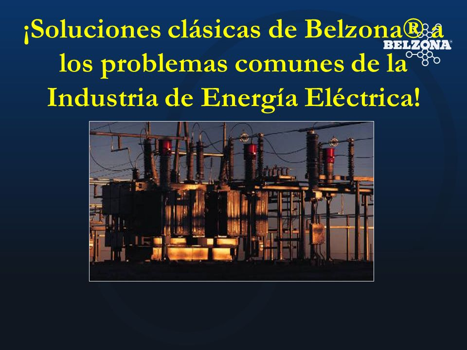 ¡Soluciones clásicas de Belzona® a los problemas comunes de la Industria de Energía Eléctrica!