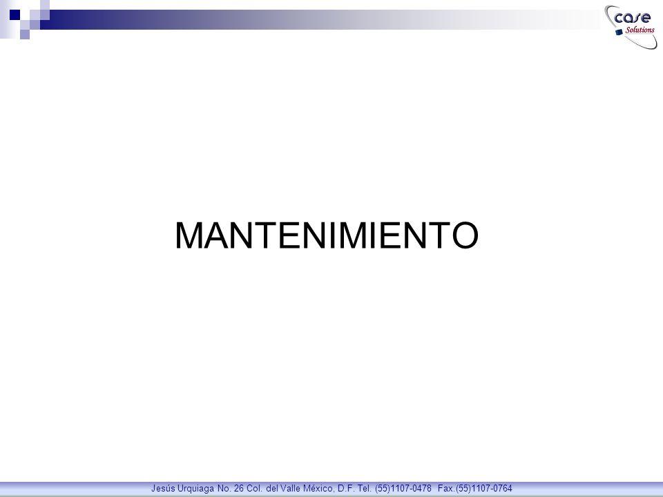 Control de Proveedores de Seguros, tarifas y fechas de vencimientos Proveedores de Seguros Jesús Urquiaga No.