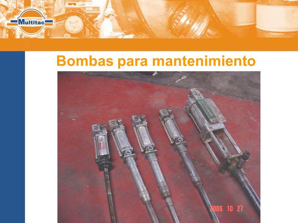 Bombas para mantenimiento