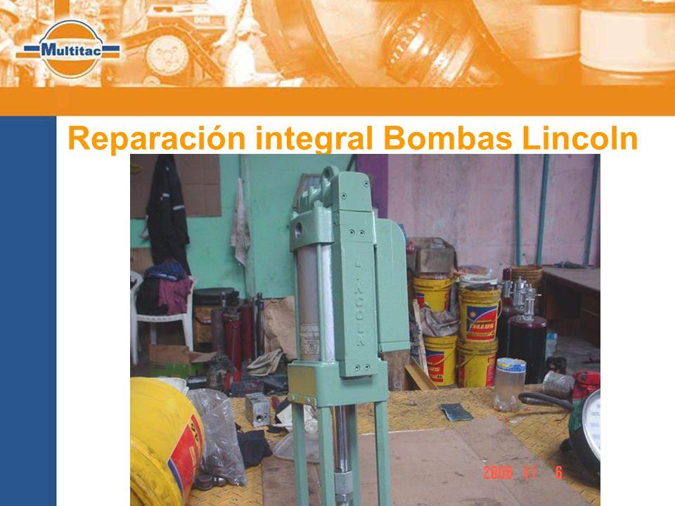Reparación integral Bombas Lincoln