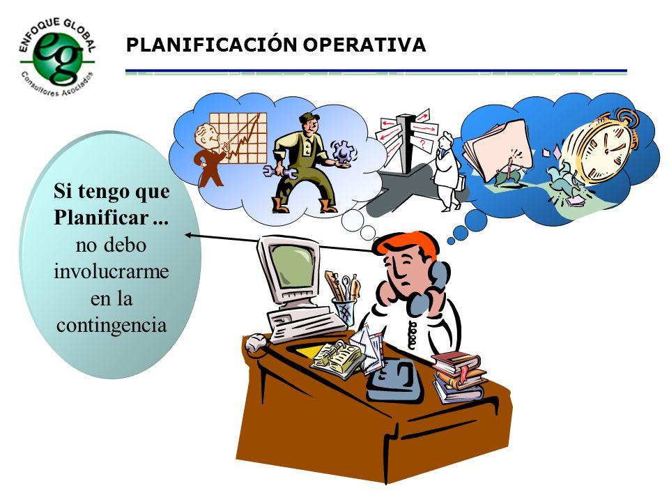 PLANIFICACIÓN OPERATIVA 8.Formar archivo de manuales, procedimientos de trabajo seguro, planos, etc. 9.Conocer software de información de Materiales.