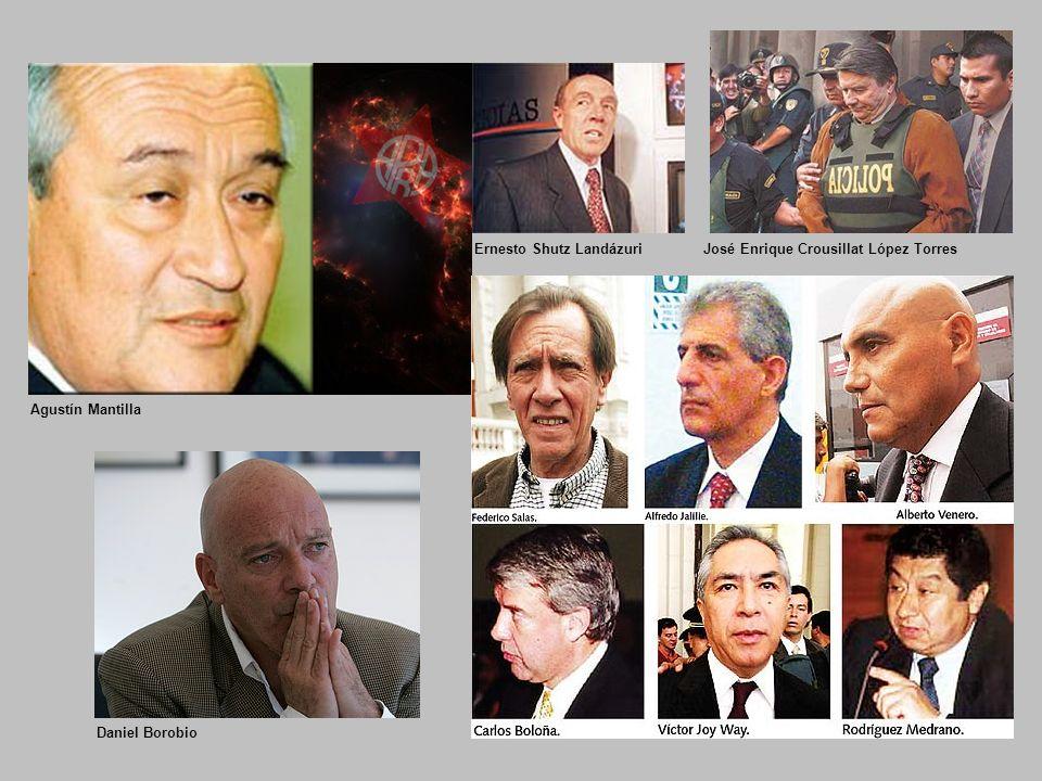 Ernesto Shutz LandázuriJosé Enrique Crousillat López Torres Agustín Mantilla Daniel Borobio