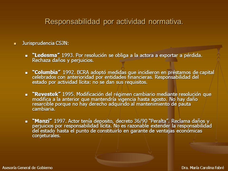 Jurisprudencia CSJN: Jurisprudencia CSJN: Ledesma 1993.