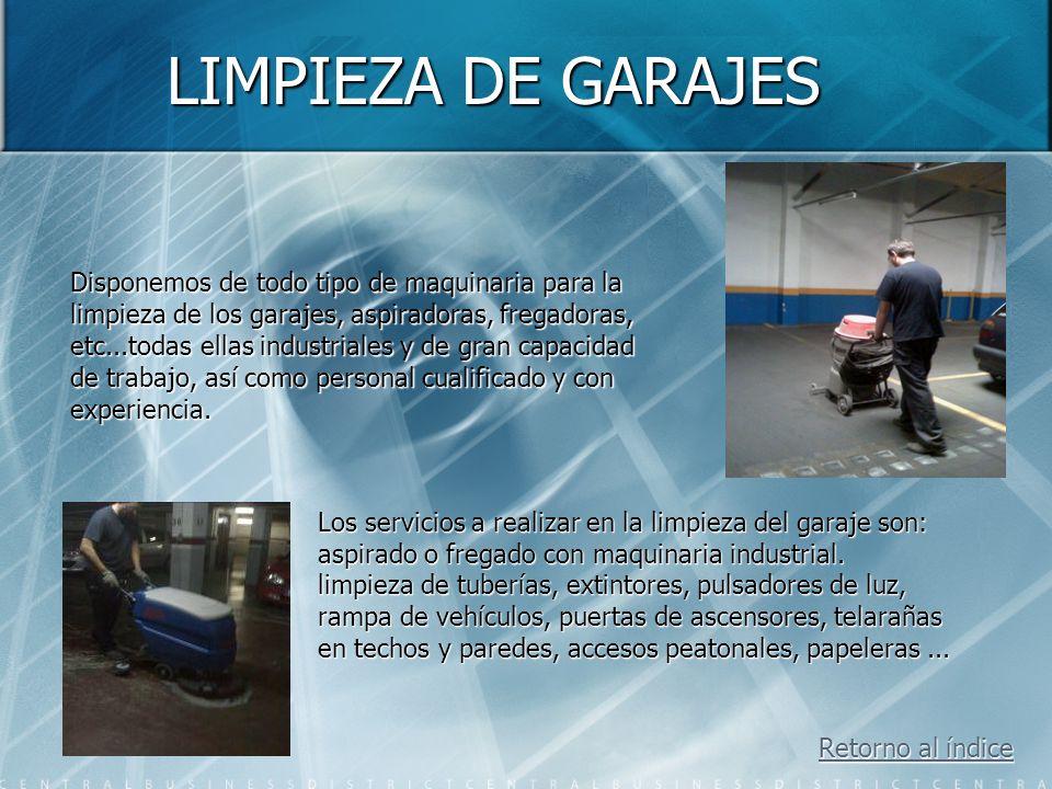 Mantenimiento integral de garajes JUYFER C.B. Estos son los diferentes servicios que prestamos: Estos son los diferentes servicios que prestamos: Limp