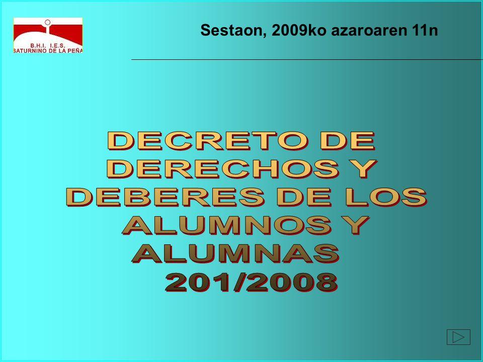 Sestaon, 2009ko azaroaren 11n
