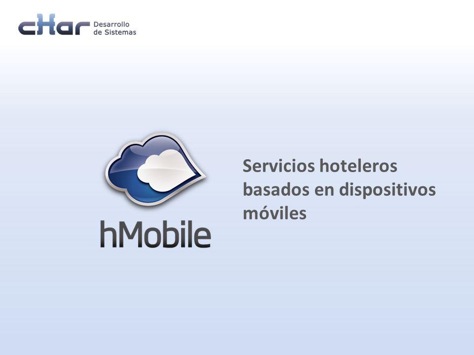 2|26 La movilidad proporcionada por red 3G y/o WIFI El bajo coste de acceso a terminales y la conectividad ofrecida por los operadores El hábito y costumbre ya existente en el uso de aplicaciones móviles por los usuarios Aplicaciones WEB de control y supervisión La integración con los sistemas Vodafone y de gestión hotelera (PMS) Basado en Apoyado por Ofrece hMobile facilita la gestión de servicios internos y a huéspedes a través de aplicaciones instaladas en terminales Smartphone (Android, iPhone, iPad, …).
