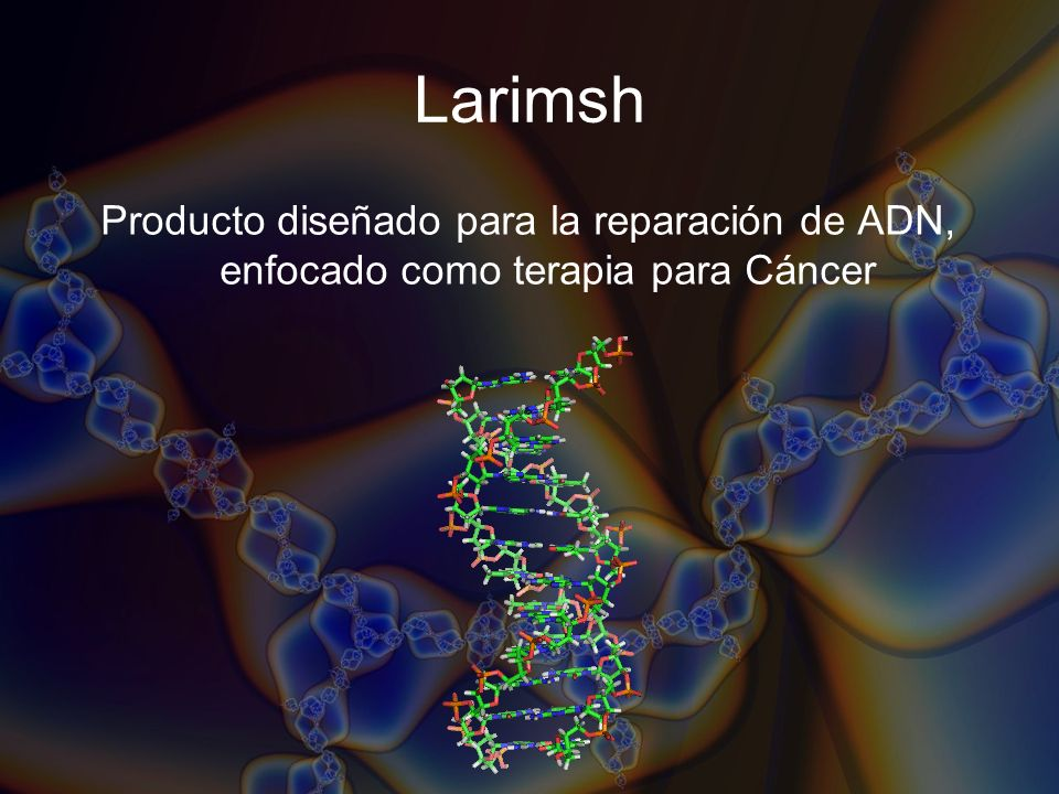 Publicaciones y Presentaciones Clinical Efficacy of a Petroleum-Derived Product (Larimsh) Used as Compassionate Tratment in Patients With Terminal Prostate Cancer.