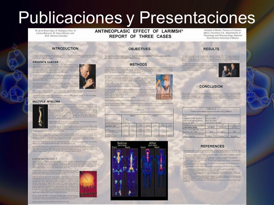 Publicaciones y Presentaciones