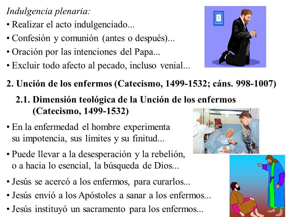 2.2.Dimensión canónica de la Unción de los enfermos (cáns.