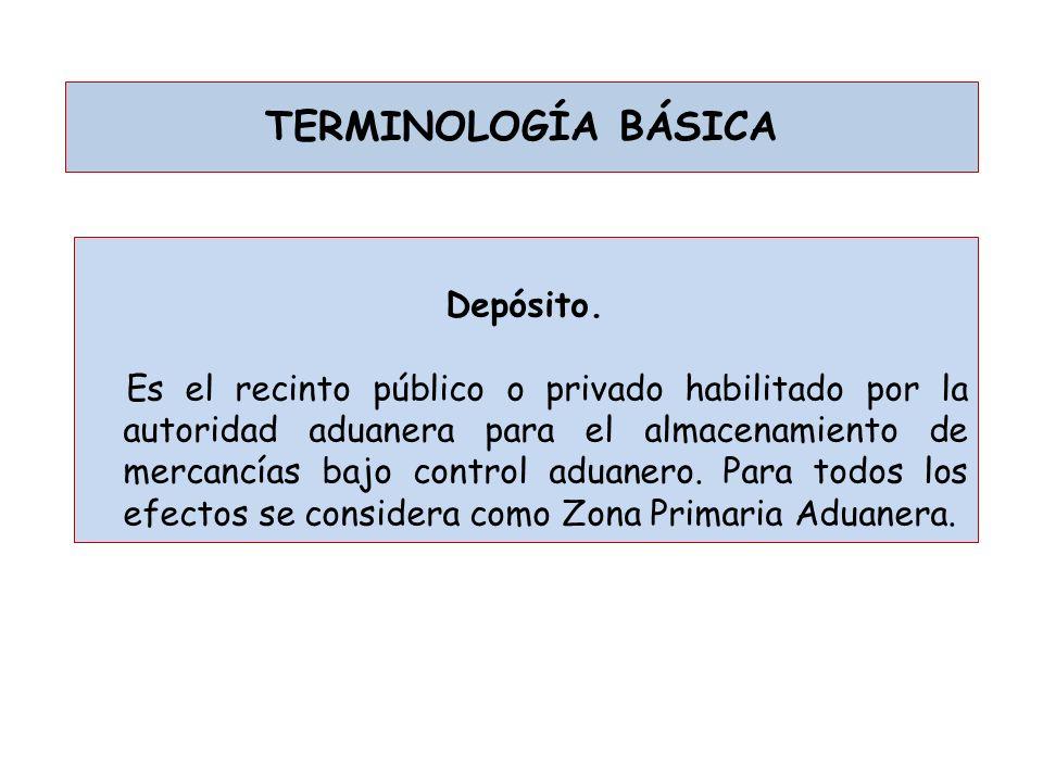 TERMINOLOGÍA BÁSICA Documento de transporte.