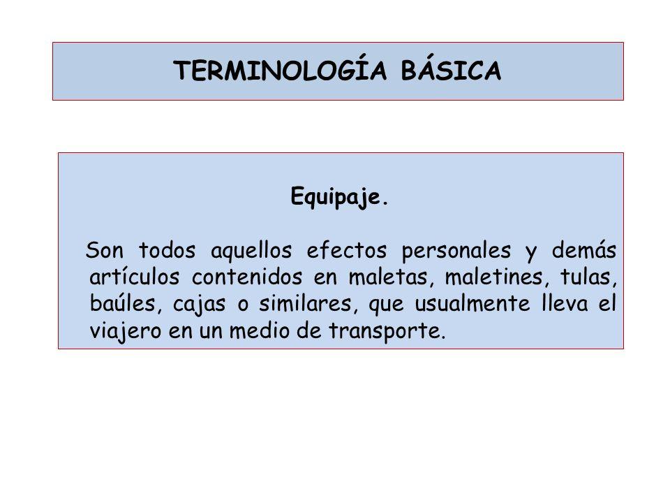 TERMINOLOGÍA BÁSICA Zona primaria aduanera.
