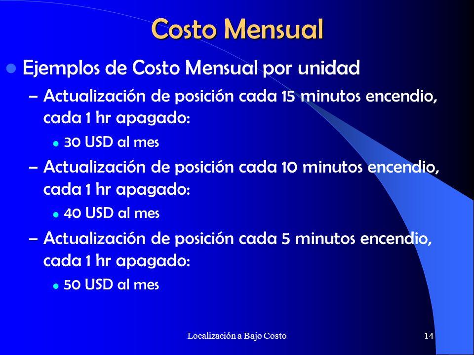 Localización a Bajo Costo13 Inversión Inical Software: REMORA La licencia base es muy económica y las licencias adicionales también se encuentran disponibles por una fracción del costo.