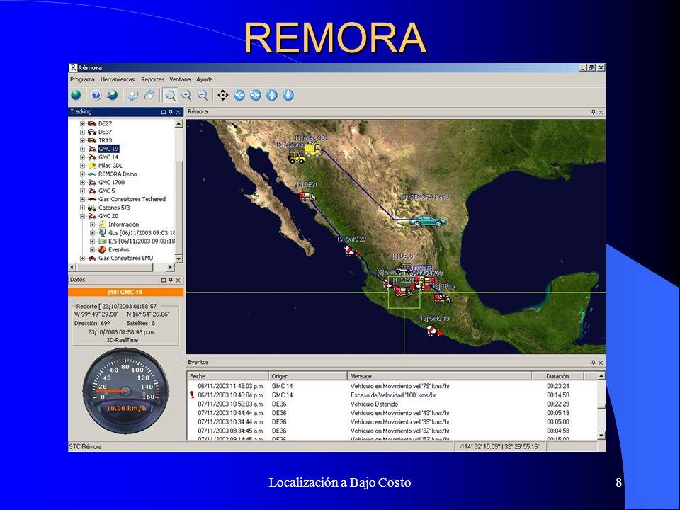 Localización a Bajo Costo7 Tecnologías Celulares VelocidadConnXCostoCaracterísticas GPRS9.6 a 24 Kbps Internet.12 pesos Por Kb; No se cobra el tiempo.
