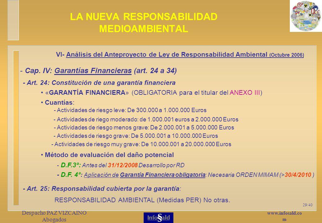 www.infosald.co m Despacho PAZ VIZCAINO Abogados 29/40 - Art.